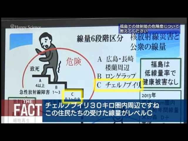 【高田純教授ロングインタビュー】本当はコワくなかった!福島の放射能 【ザ・ファクト】