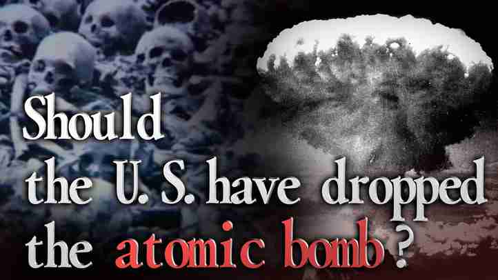 【Obama's Visit to Hiroshima】 Should the U.S. have dropped   the atomic bomb?