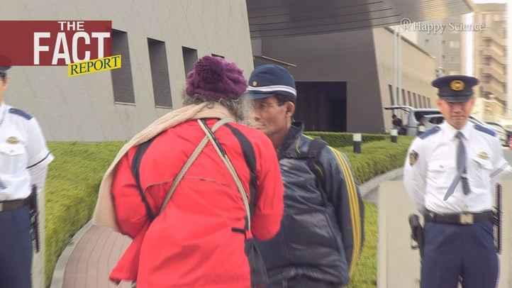 土人発言に反発の「プロ市民」が大阪府警前に集結~唖然の実態映像【ザ・ファクト REPORT】