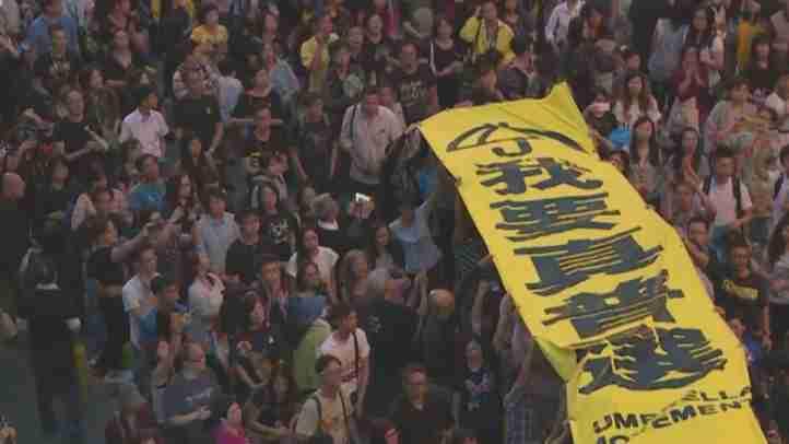 【周庭氏インタビュー】香港に忍び寄る中国共産党に立ち向かう民主活動家たち【ザ・ファクト】