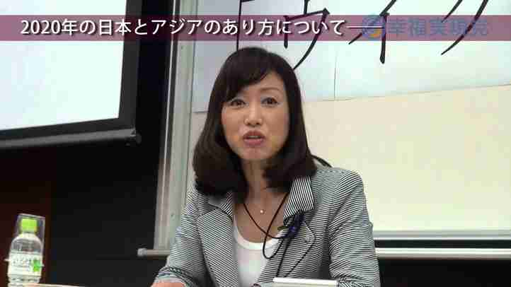 トゥール・ムハメット氏 × 釈量子(幸福実現党党首) 早稲田祭対談