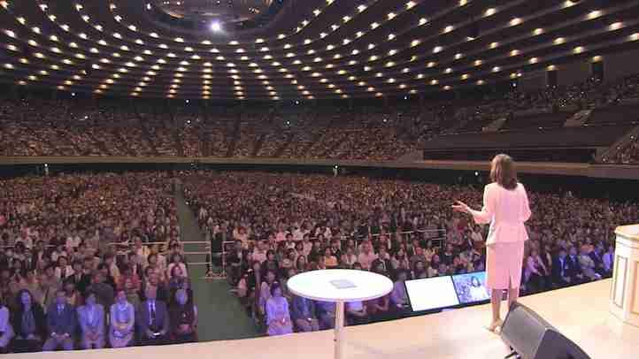大阪城ホール1万人に釈量子渾身の政策スピーチ!(立党7周年大会)