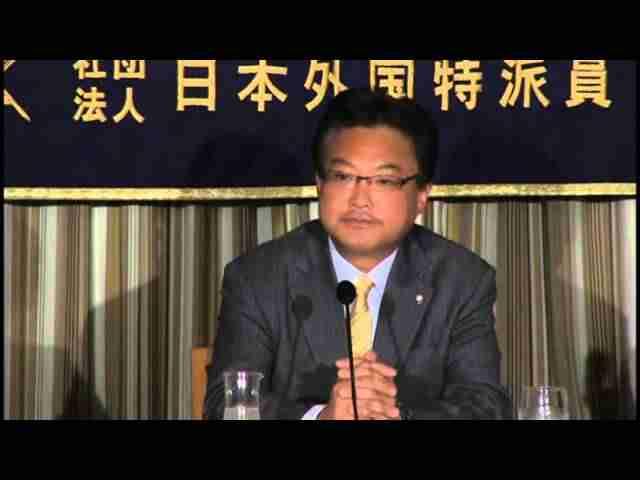 やない筆勝 幸福実現党党首 日本外国特派員協会記者会見 7月18日