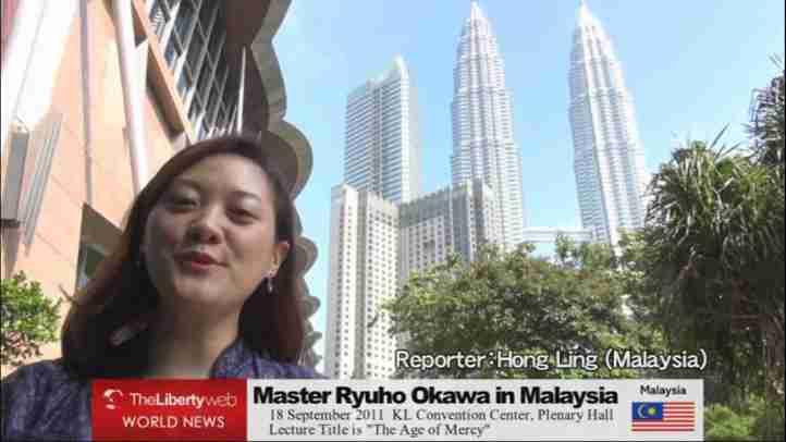 Master Ryuho Okawa in Malaysia