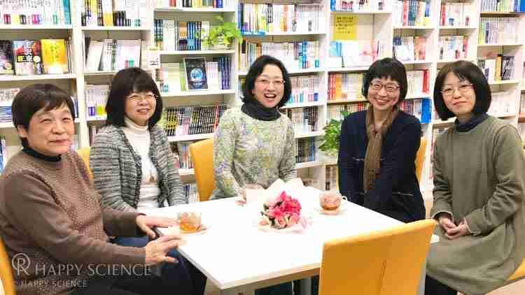 ともに教えを学んでる、琵琶湖西支部の皆さん。(写真中央がHさん)