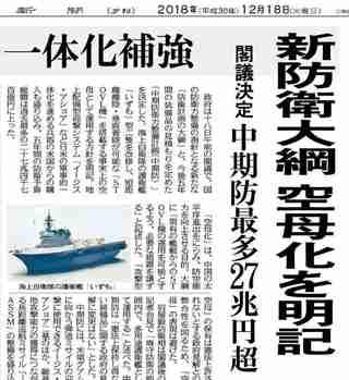 2018年12月18日東京新聞