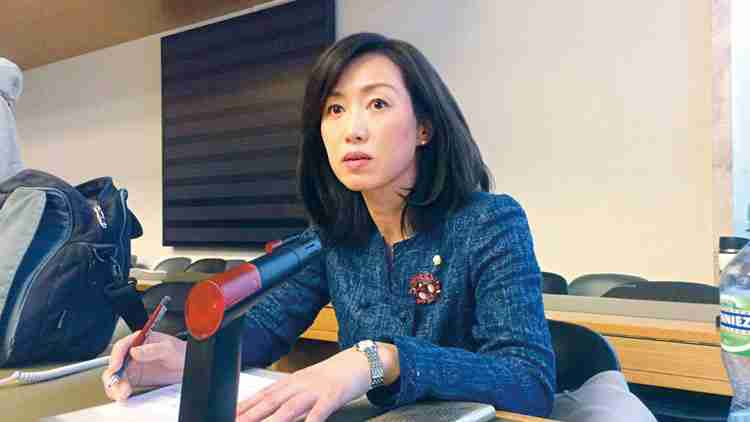 2016年2月、国連の「女子差別撤廃委員会」に参加し、スピーチを行った。