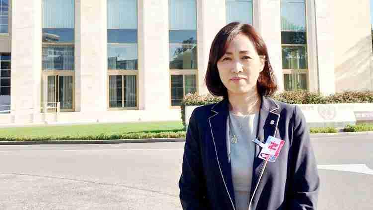 釈量子党首が、スイス・ジュネーブで国連・人権理事会の事前セッションに参加。