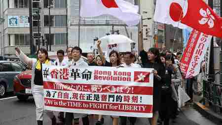 Japan's Nationwide Support for Hong Kong【THE FACT REPORT】