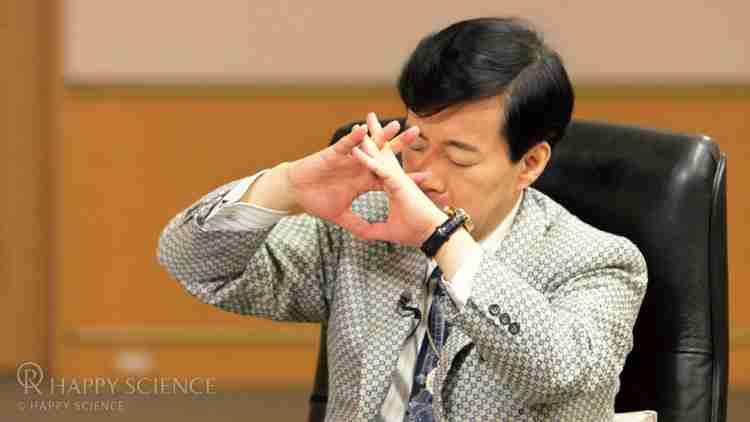 霊体の一部を移動させ遠隔透視リーディングを行う大川隆法総裁