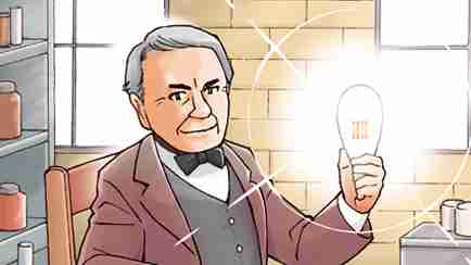 【偉人伝】エジソン―発明で世界の人々の暮らしを快適にした―