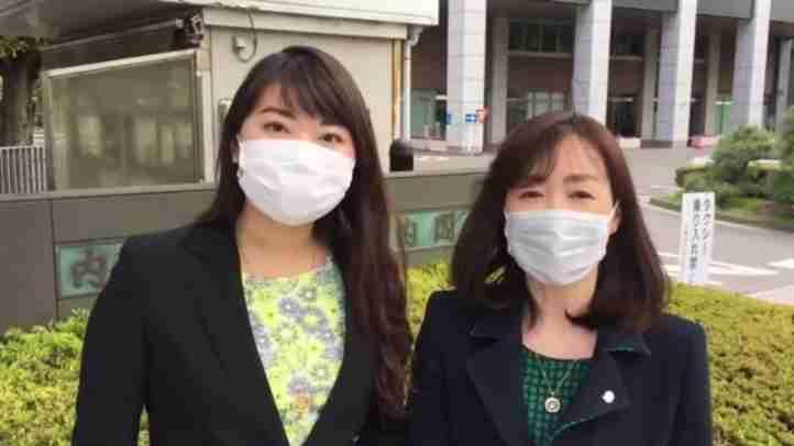 4月24日(金) 釈量子党首と七海ひろこ広報本部長が、安倍総理大臣宛に2つの要望書を提出